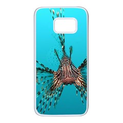 Lionfish 2 Samsung Galaxy S7 White Seamless Case