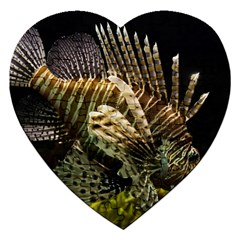 Lionfish 3 Jigsaw Puzzle (heart) by trendistuff