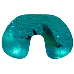 Manta Ray 1 Travel Neck Pillows by trendistuff
