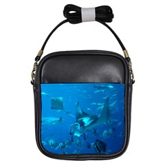 Manta Ray 2 Girls Sling Bags by trendistuff