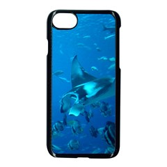 Manta Ray 2 Apple Iphone 7 Seamless Case (black) by trendistuff