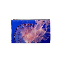Purple Jellyfish Cosmetic Bag (small)  by trendistuff
