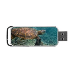 Sea Turtle 3 Portable Usb Flash (two Sides) by trendistuff