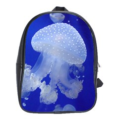Spotted Jellyfish School Bag (large) by trendistuff