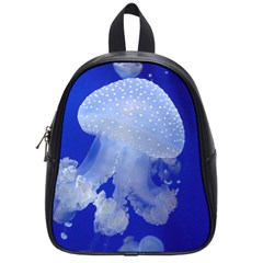 Spotted Jellyfish School Bag (small) by trendistuff