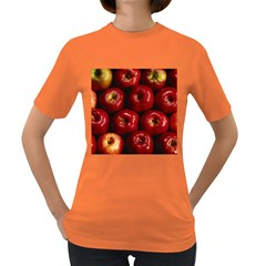 Apples 2 Women s Dark T Shirt by trendistuff