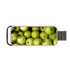 Apples 3 Portable Usb Flash (one Side) by trendistuff