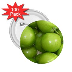 Apples 4 2 25  Buttons (100 Pack)  by trendistuff