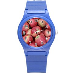 Apples 5 Round Plastic Sport Watch (s) by trendistuff