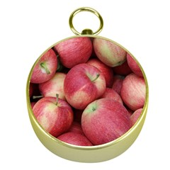 Apples 5 Gold Compasses by trendistuff