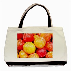 Apricots 1 Basic Tote Bag (two Sides) by trendistuff