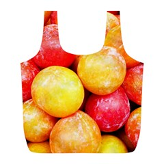 Apricots 1 Full Print Recycle Bags (l)  by trendistuff