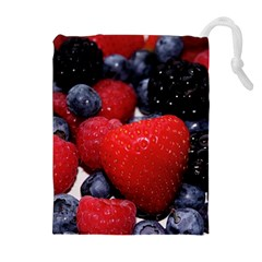 Berries 1 Drawstring Pouches (extra Large) by trendistuff