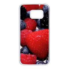 Berries 1 Samsung Galaxy S7 White Seamless Case
