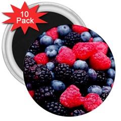 Berries 2 3  Magnets (10 Pack)  by trendistuff