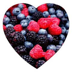 Berries 2 Jigsaw Puzzle (heart) by trendistuff