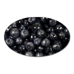 Blueberries 1 Oval Magnet by trendistuff