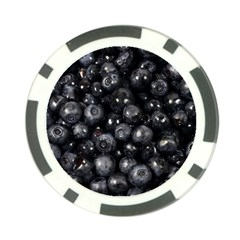 Blueberries 1 Poker Chip Card Guard (10 Pack) by trendistuff