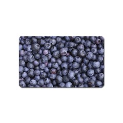 Blueberries 3 Magnet (name Card) by trendistuff