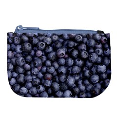 Blueberries 3 Large Coin Purse by trendistuff