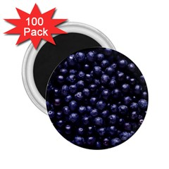 Blueberries 4 2 25  Magnets (100 Pack)  by trendistuff