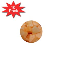 Cantaloupe 1  Mini Buttons (10 Pack)  by trendistuff