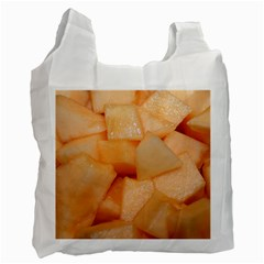 Cantaloupe Recycle Bag (one Side) by trendistuff