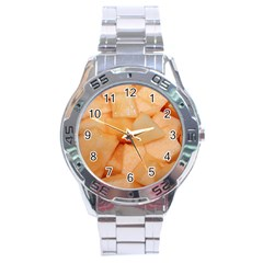Cantaloupe Stainless Steel Analogue Watch by trendistuff