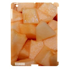 Cantaloupe Apple Ipad 3/4 Hardshell Case (compatible With Smart Cover) by trendistuff
