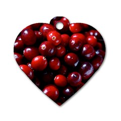 Cranberries 1 Dog Tag Heart (one Side) by trendistuff