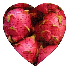 Dragonfruit Jigsaw Puzzle (heart) by trendistuff