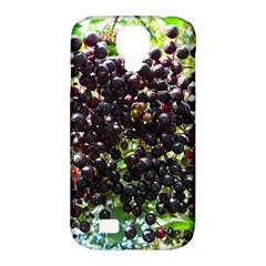 Elderberries Samsung Galaxy S4 Classic Hardshell Case (pc+silicone) by trendistuff