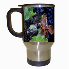 Grapes 3 Travel Mugs (white) by trendistuff