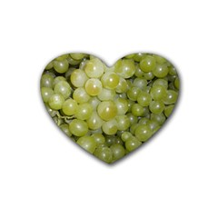 Grapes 5 Heart Coaster (4 Pack)  by trendistuff