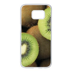 Kiwi 2 Samsung Galaxy S7 Edge White Seamless Case