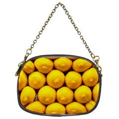 Lemons 1 Chain Purses (two Sides)  by trendistuff