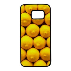 Lemons 1 Samsung Galaxy S7 Black Seamless Case by trendistuff