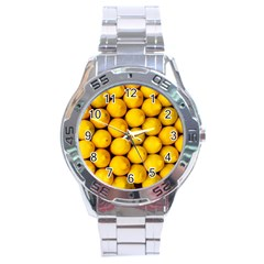 Lemons 2 Stainless Steel Analogue Watch by trendistuff
