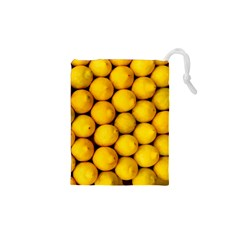 Lemons 2 Drawstring Pouches (xs)  by trendistuff