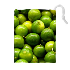 Limes 1 Drawstring Pouches (extra Large) by trendistuff