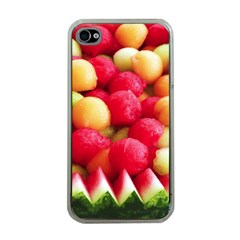 Melon Balls Apple Iphone 4 Case (clear) by trendistuff