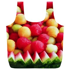 Melon Balls Full Print Recycle Bags (l)  by trendistuff