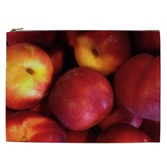 Nectarines Cosmetic Bag (xxl)  by trendistuff