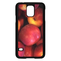 Nectarines Samsung Galaxy S5 Case (black) by trendistuff