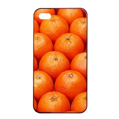 Oranges 2 Apple Iphone 4/4s Seamless Case (black) by trendistuff