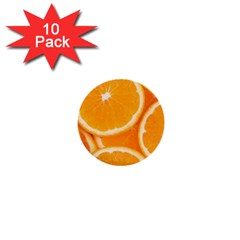 Oranges 4 1  Mini Buttons (10 Pack)  by trendistuff