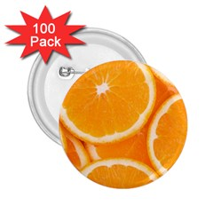 Oranges 4 2 25  Buttons (100 Pack)  by trendistuff