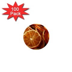 Oranges 5 1  Mini Buttons (100 Pack)  by trendistuff