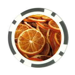 Oranges 5 Poker Chip Card Guard by trendistuff