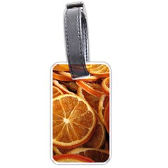 Oranges 5 Luggage Tags (two Sides) by trendistuff